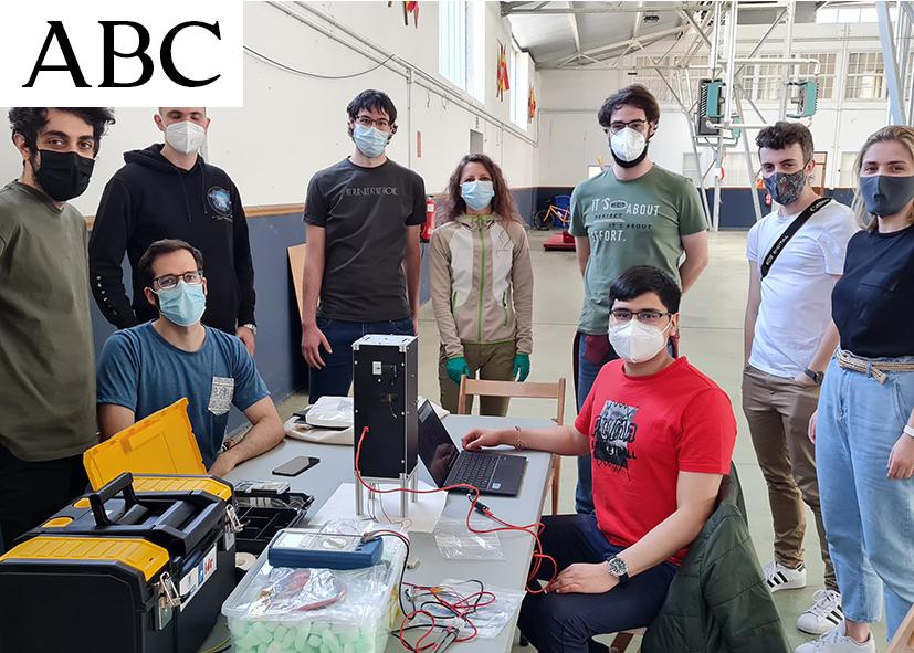 Universitarios colocan con éxito microsatélite en la estratosfera